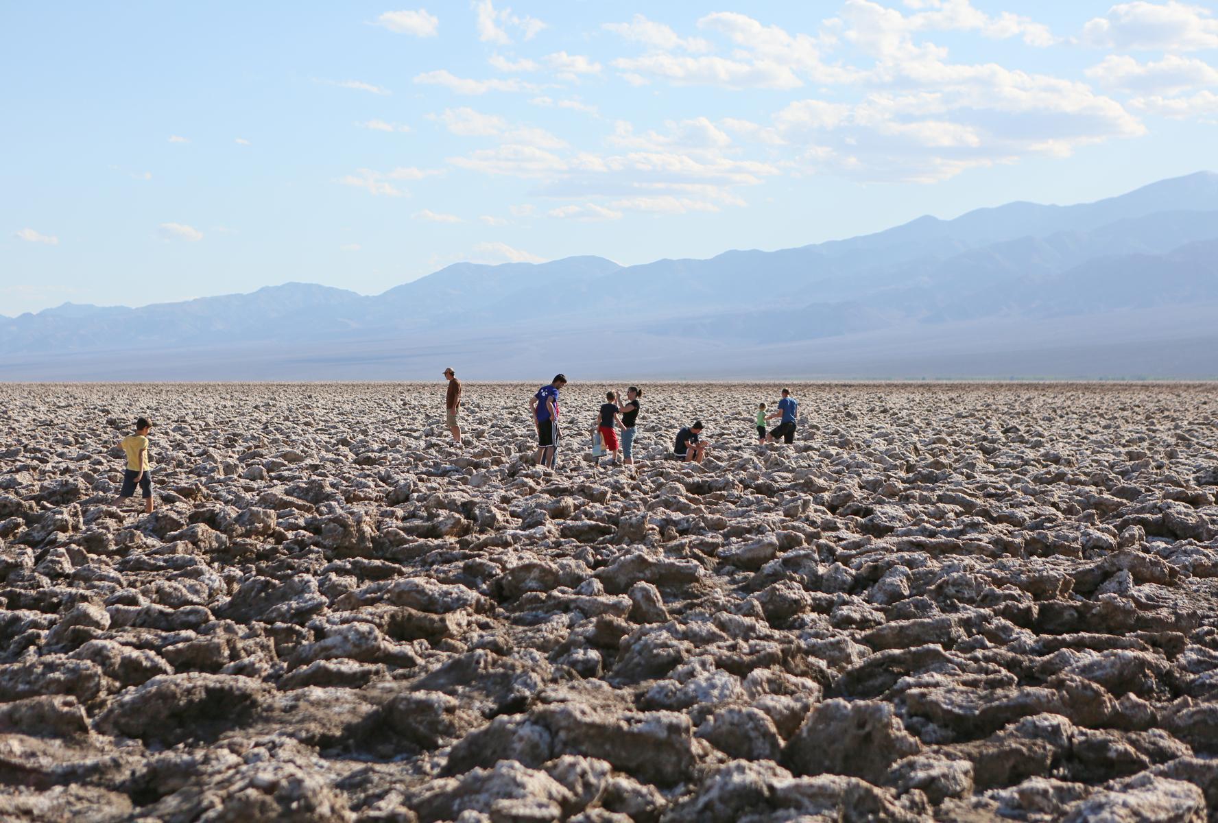 Devil's Golfcourse, Death Valley National Park