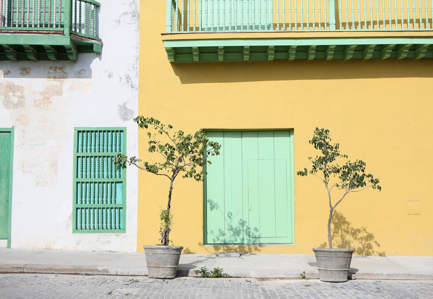 Verde y Amarillo, Habana Vieja