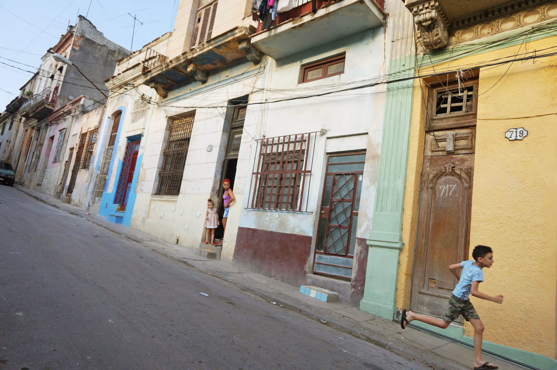 Running Boy, Habana Centro