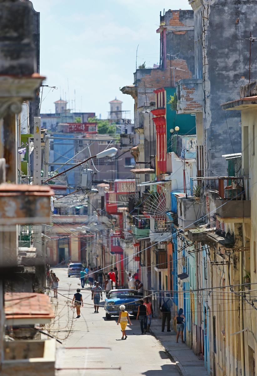 Street View, Calle Peñalver en Habana Centro