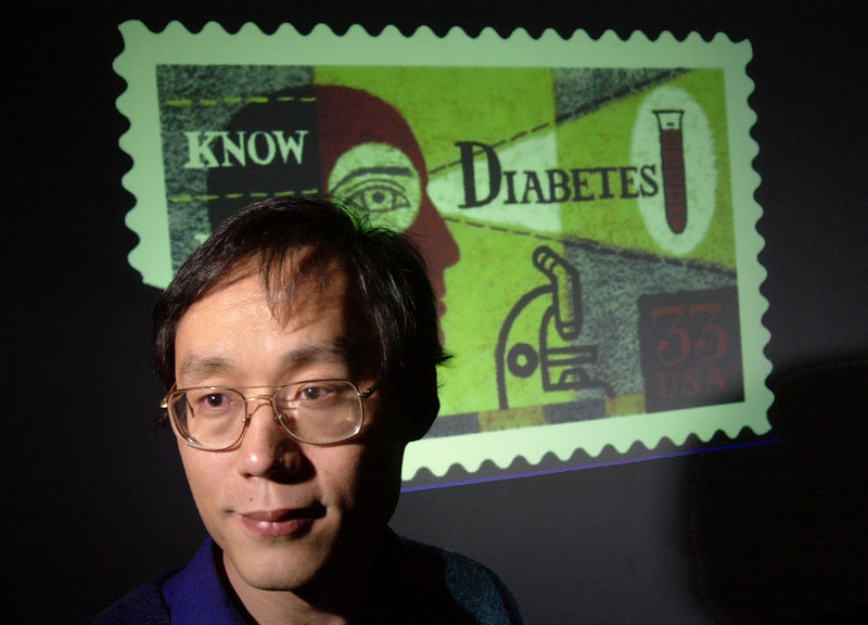 © 2010 Harvard University. Frank Hu, diabetes researcher and Assistant Professor of Nutrition and Epidemiology at the Harvard School of Public Health.
