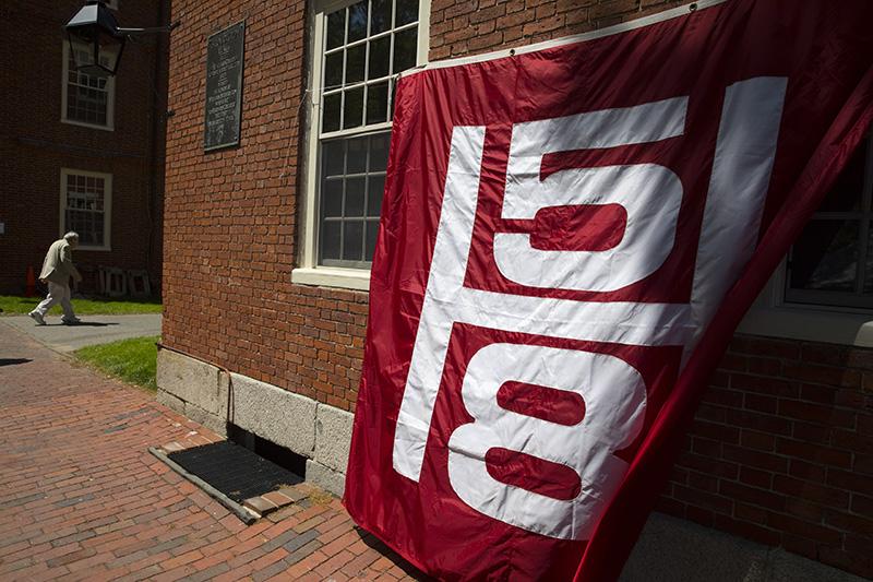 Harvard University's 367th Commencement. Jon Chase/Harvard Staff Photographer