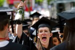 © 2010 Harvard University. Celebrating graduate at Harvard Commencement.