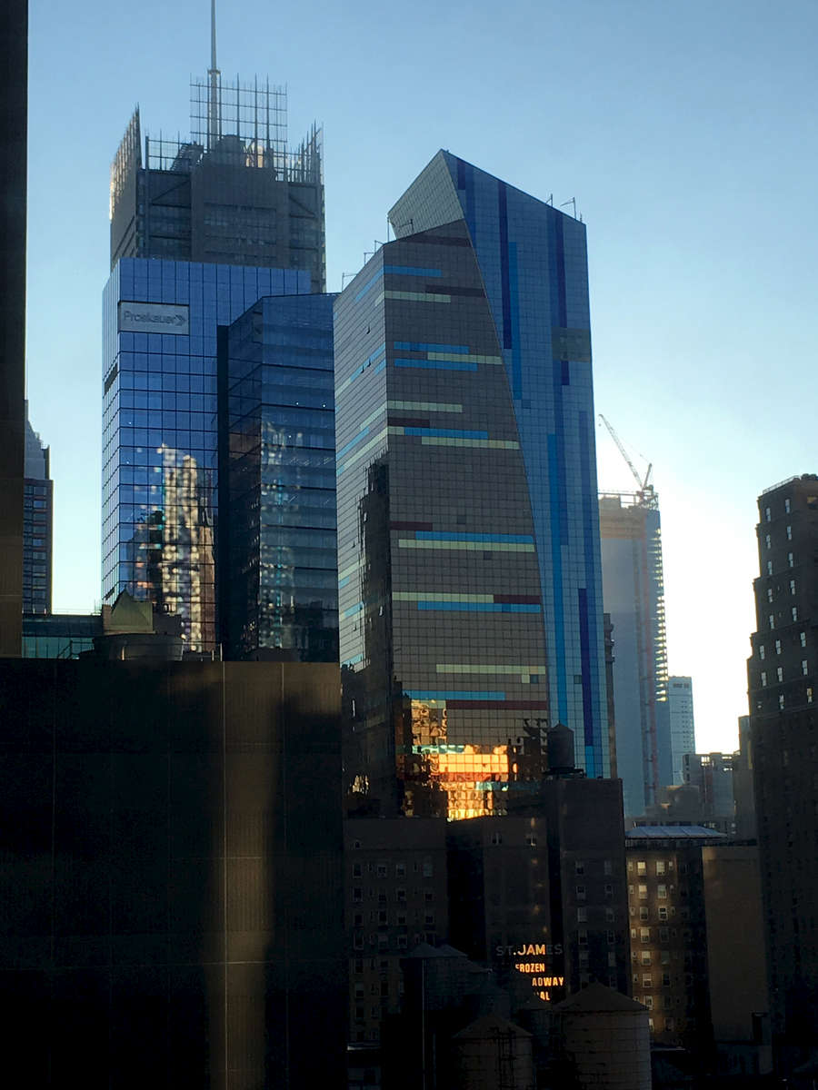 View from my window at the Edison Hotel, Times Square.  Jon Chase photo