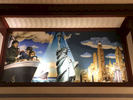 Mural at the Edison Hotel, Times Square, NYC. Jon Chase photo