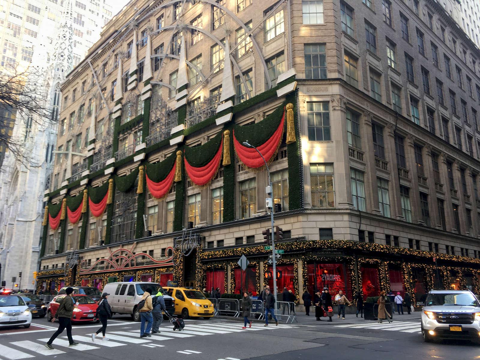 Saks Fifth Avenue store, NYC. Jon Chase photo