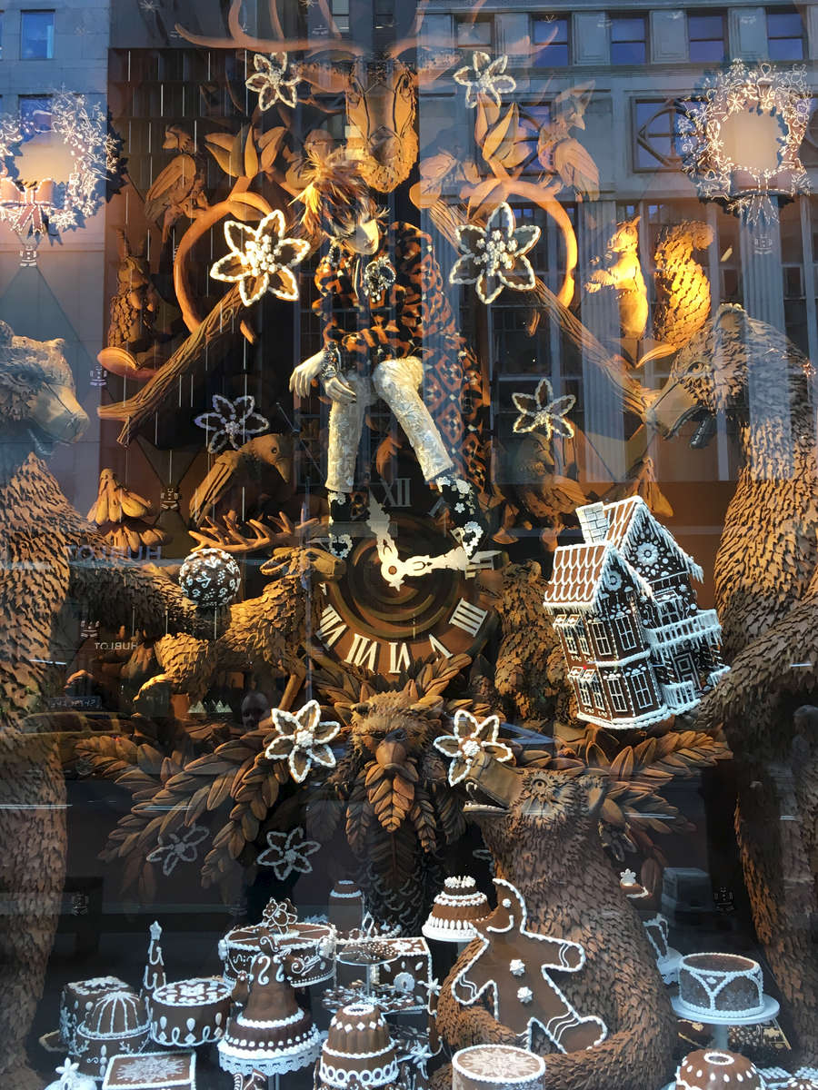 Bergdorf-Goodman window, NYC. Jon Chase photo