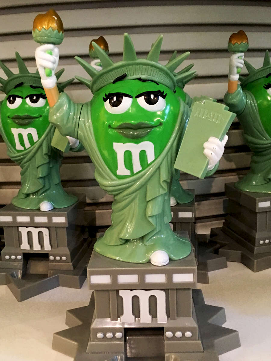 M&M store, NYC. Jon Chase photo