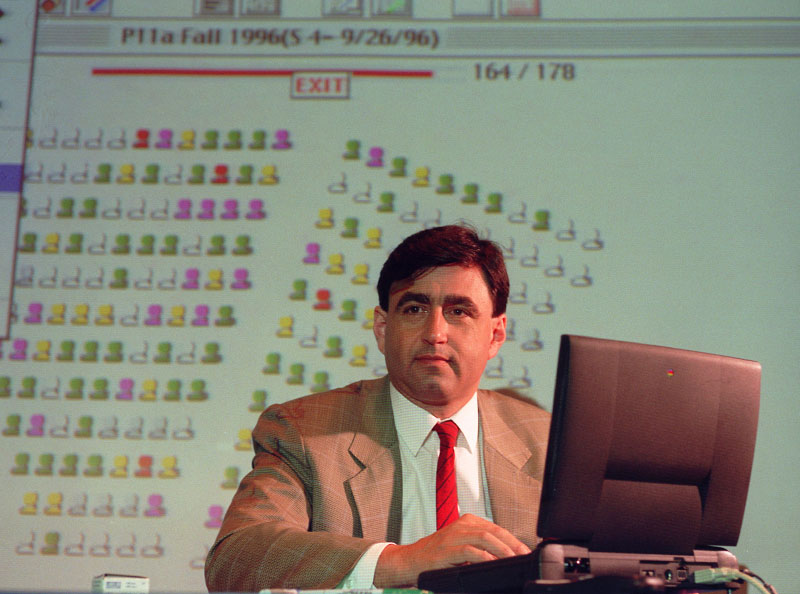 Eric Mazur, physics professor, Harvard University.