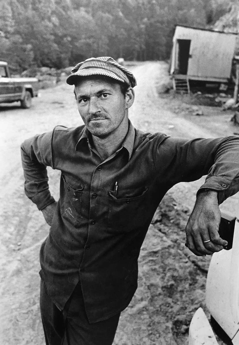 Jon Chase photo. Tarncy Mullins stands by his truck deep in the heart of coal country near the WV and KY borders in Wise County, VA, 1979. I recently was able to track Tarncy down through a funeral notice for his older brother, who died Jan. 6, the same day rioters stormed the U.S. Capitol. I spoke with him on the phone; he is now 76 and lives with his wife of 55 years in nearby Clintwood, VA. He actually remembered our short roadside meeting some 42 years ago, and still has the photo I sent him way back then. Tarncy worked at the Elkin #6 mine in Norton with two brothers whose photo I posted earlier, Don and Doug Shelton. He gave up mining for the ministry, and officiated at the recent service for his brother. He lost another brother in a fatal mine accident decades ago. Mine accidents and black lung disease are both occupational hazards for coal miners. The disability rate in Wise County for the working population aged 15-64 is over 20%, meaning 1 in 5 workers have some sort of permanent disability.