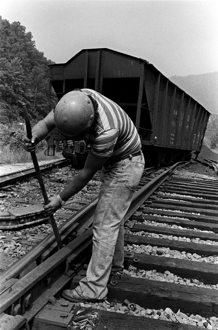 Railroad worker, W.Va.
