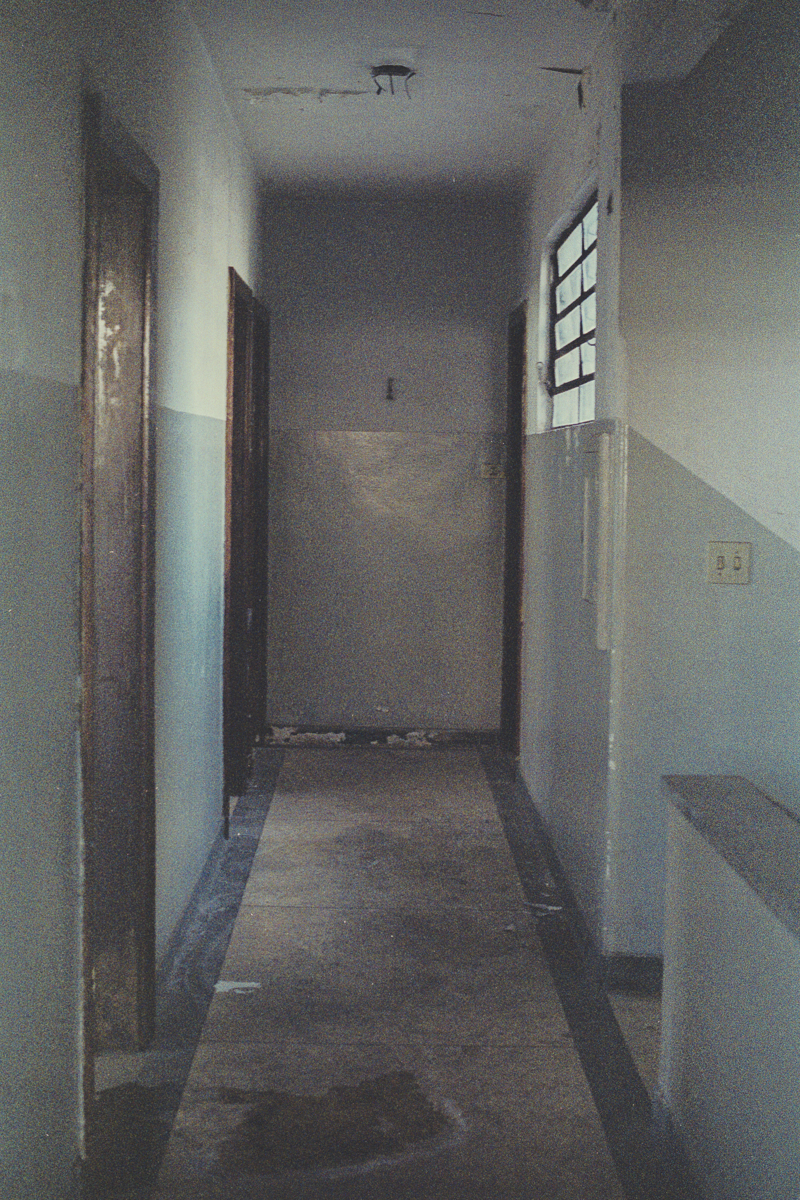 The hallway of a building at the former intelligence and repression agency, DOI-CODI (Department of Information Operations - Center for Internal Defense Operations) during the dictatorship where military officials interrogated citizens which often ended in torture, on Rua Tutoia in Paraiso neighborhood, in São Paulo. It is currently the 36th Civil Police Precinct.
