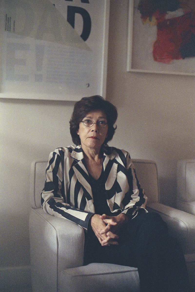 Rosa Maria Cardoso da Cunha, a lawyer and member of the Truth Commission, in Rio de Janeiro. During the dictatorship, Ms. Cunha defended political prisoners, among them former president Dilma Rousseff.