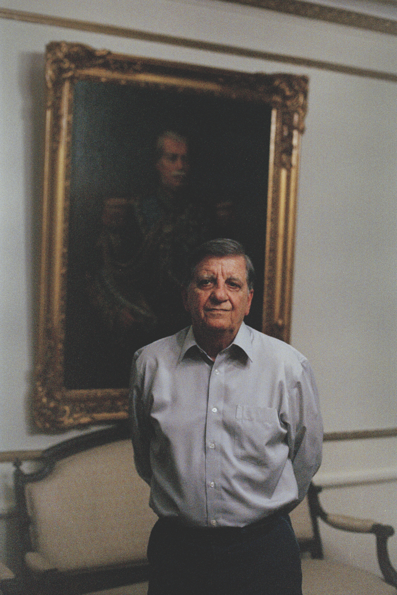 General Gilberto Rodrigues Pimentel, president of the Military Club in Rio de Janeiro at his office.  {quote}In 1964, it was the Cold War. Communism was a threat. It is now a thing of the past. It is up to civil society to manage the political turbulence,{quote} he explains, using the term {quote}authoritarian military rule{quote} to describe the dictatorship period. He considers the former guerillas of the civil resistance movement during that period as modern-day {quote}terrorists{quote}.