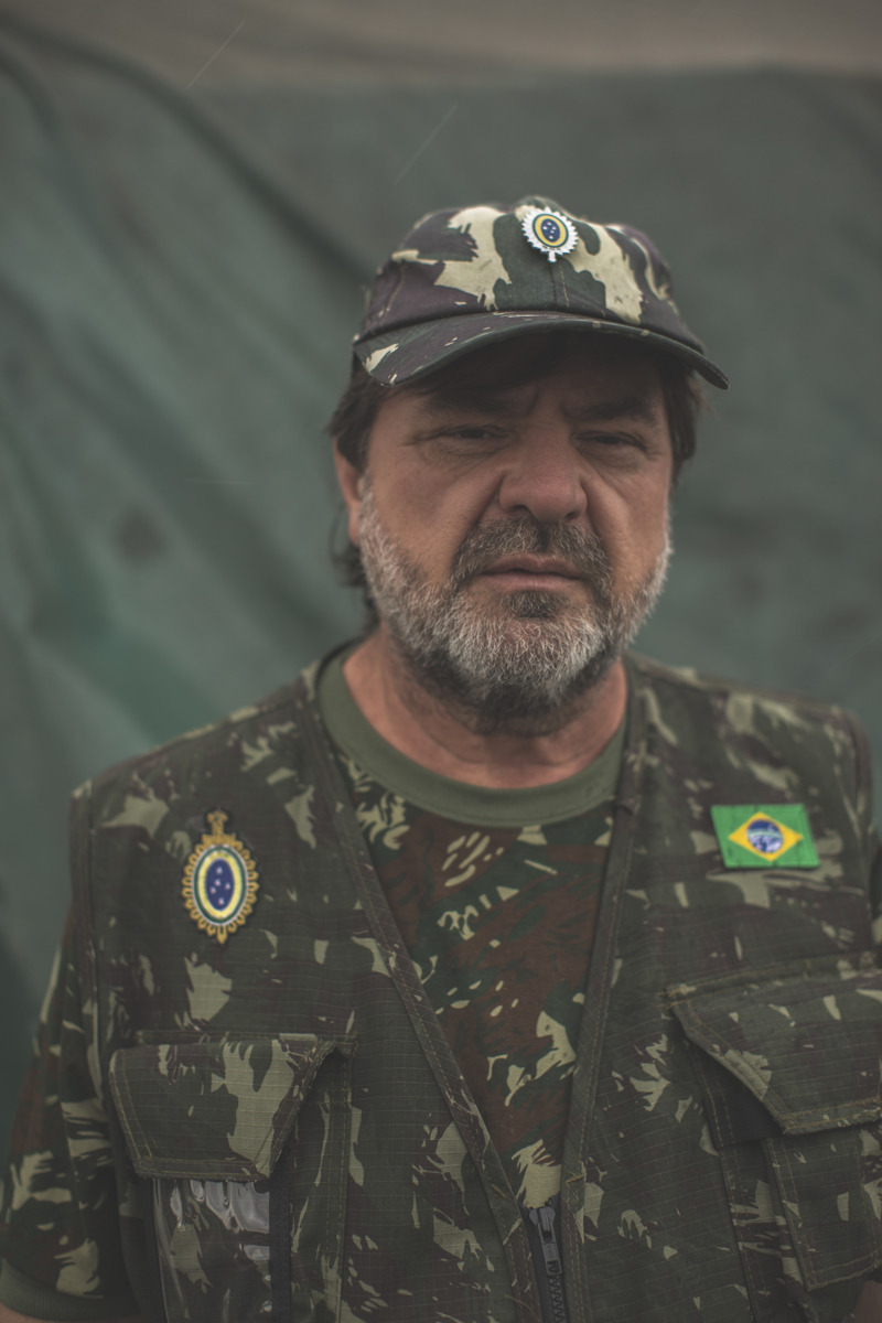 National Guard Adans Ghizzi, and member of the Brazilian Interventionist Resistence Movement (MBRI), a radical group that wants military intervention of the government.