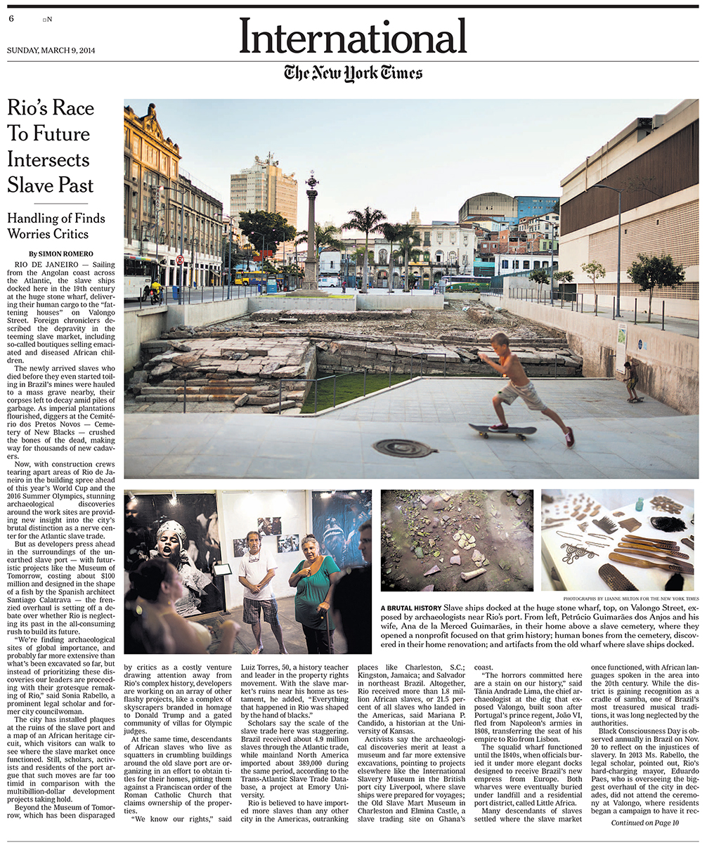 For the New York Times in Rio De JaneiroPublished: March 9, 2014