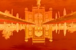 Ilfochrome print - Ed. 3 + 2APMounted face in 0,6 cm (1/4{quote}) Plexiglas101,6 x 152,4 cm (40 x 60{quote})This building sits opposite the main structure of the Taj Mahal. It acts as pendant to the main building.