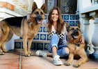 Brooke Burke at home