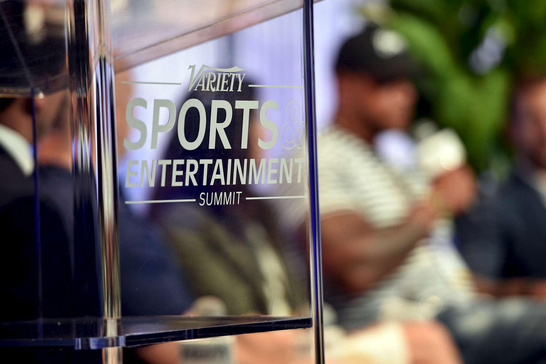 Mandatory Credit: Photo by Stewart Cook/Variety/REX/Shutterstock (8960146iq)AtmosphereVariety Sports Entertainment Summit, Los Angeles, USA - 13 Jul 2017