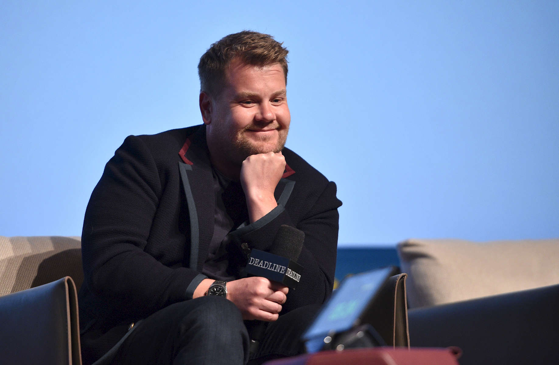 Mandatory Credit: Photo by Stewart Cook/Deadline/REX/Shutterstock (9629821b)James CordenCBS 'The Late Late Show with James Corden' presentation, The Contenders Emmys presented by Deadline Hollywood, Los Angeles, USA - 15 Apr 2018