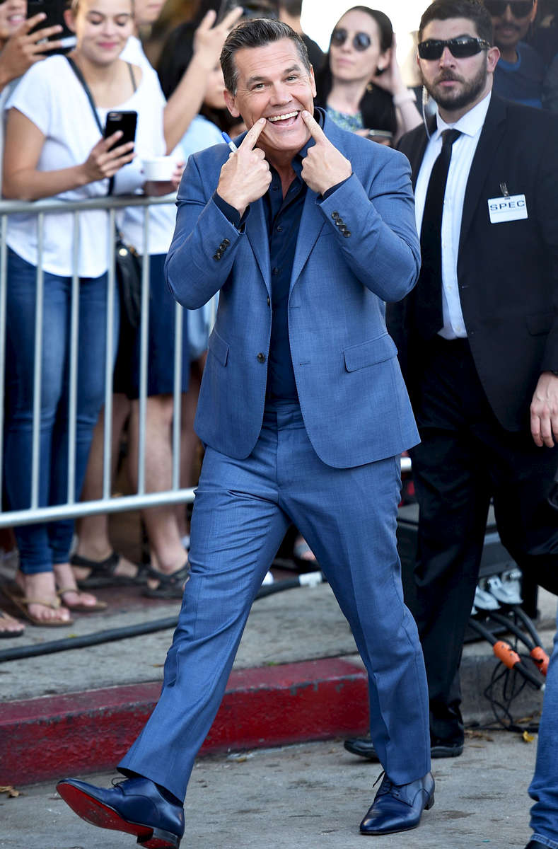 Mandatory Credit: Photo by Stewart Cook/Variety/REX/Shutterstock (9727960be)Josh Brolin'Sicario: Day of the Soldado' film premiere, Arrivals, Los Angeles, USA - 26 Jun 2018
