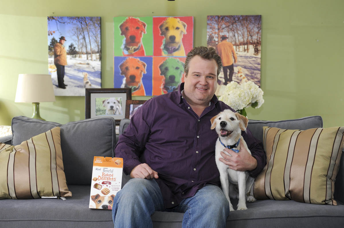 Eric Stonestreet and Coleman for Beneful Baked Delights dog treats