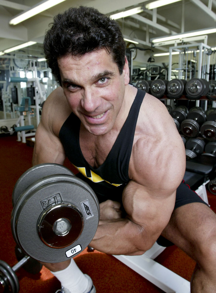 Actor Lou Ferrigno who played the Incredible Hulk in the 1970's