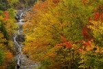 Silver Cascade Falls, Twin Mountain, NH.Fine art prints available from Photoshelter. 2007 mark menditto(2007-10 NH-0443)