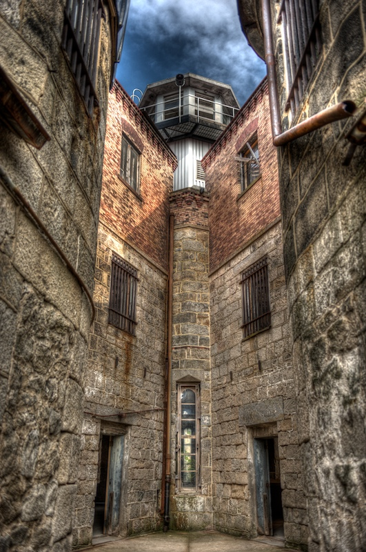 HDR shot at Eastern State Penitentiary, central Philadephia, PA (US).©  2008 mark menditto. all rights reserved.(2008-09 ESP-847-859_TMgr)