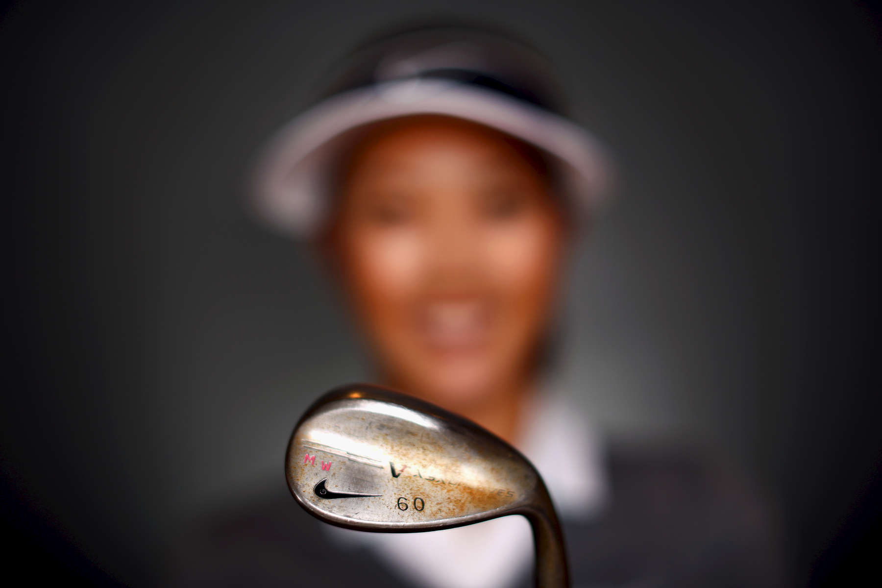 IRVING, TX - APRIL 29:  LPGA player Michelle Wie poses for a portrait prior to the start of the North Texas LPGA Shootout Presented by JTBC at the Las Colinas Country Club on April 29, 2014 in Irving, Texas.  (Photo by Tom Pennington/Getty Images)