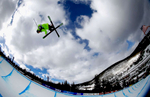 COPPER MOUNTAIN, CO - DECEMBER 05:  Kevin Rolland of France competes in the final round of the FIS Freestyle Ski World Cup 2015 men's ski halfpipe during the USSA Grand Prix on December 5, 2014 in Copper Mountain, Colorado.  (Photo by Tom Pennington/Getty Images)