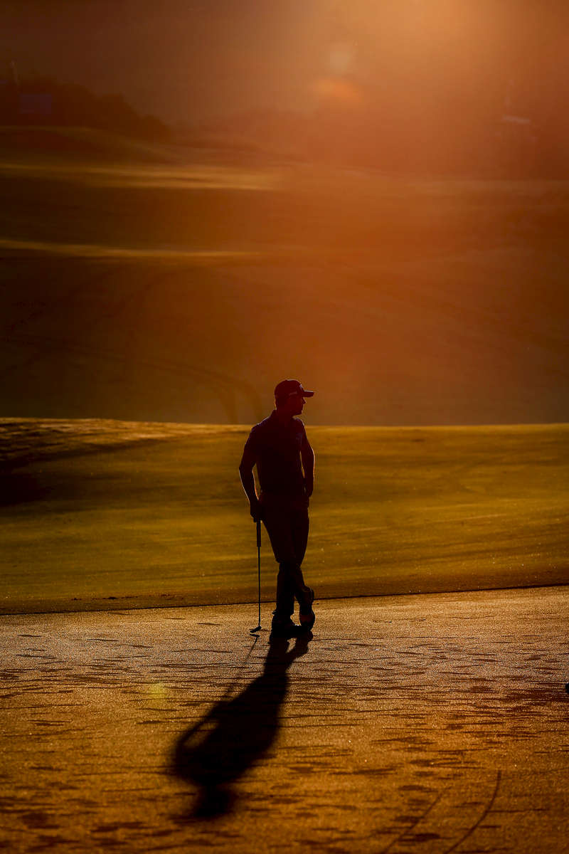 LAHAINA, HI - JANUARY 02:  Billy Horschel waits to putt during the Pro-Am round prior to the Hyundai Tournament of Champions at the Plantation Course at Kapalua Golf Club on January 2, 2014 in Lahaina, Hawaii.  (Photo by Tom Pennington/Getty Images)