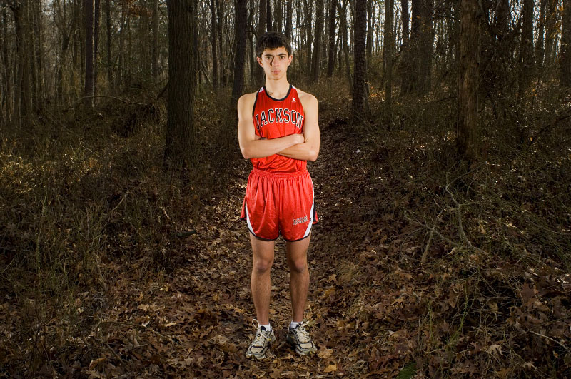 Kris Carle of Jackson High School, the 2006 Shore Conference Runner of the Year and member of the All State Team.