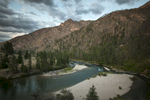 Dusk on the Middle Fork of the Salmon River 2014.