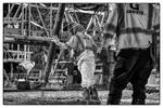 Price, UT  Bridge Re-Build for Granite Construction.Construction Photography by: Paul Richer / RICHER IMAGES