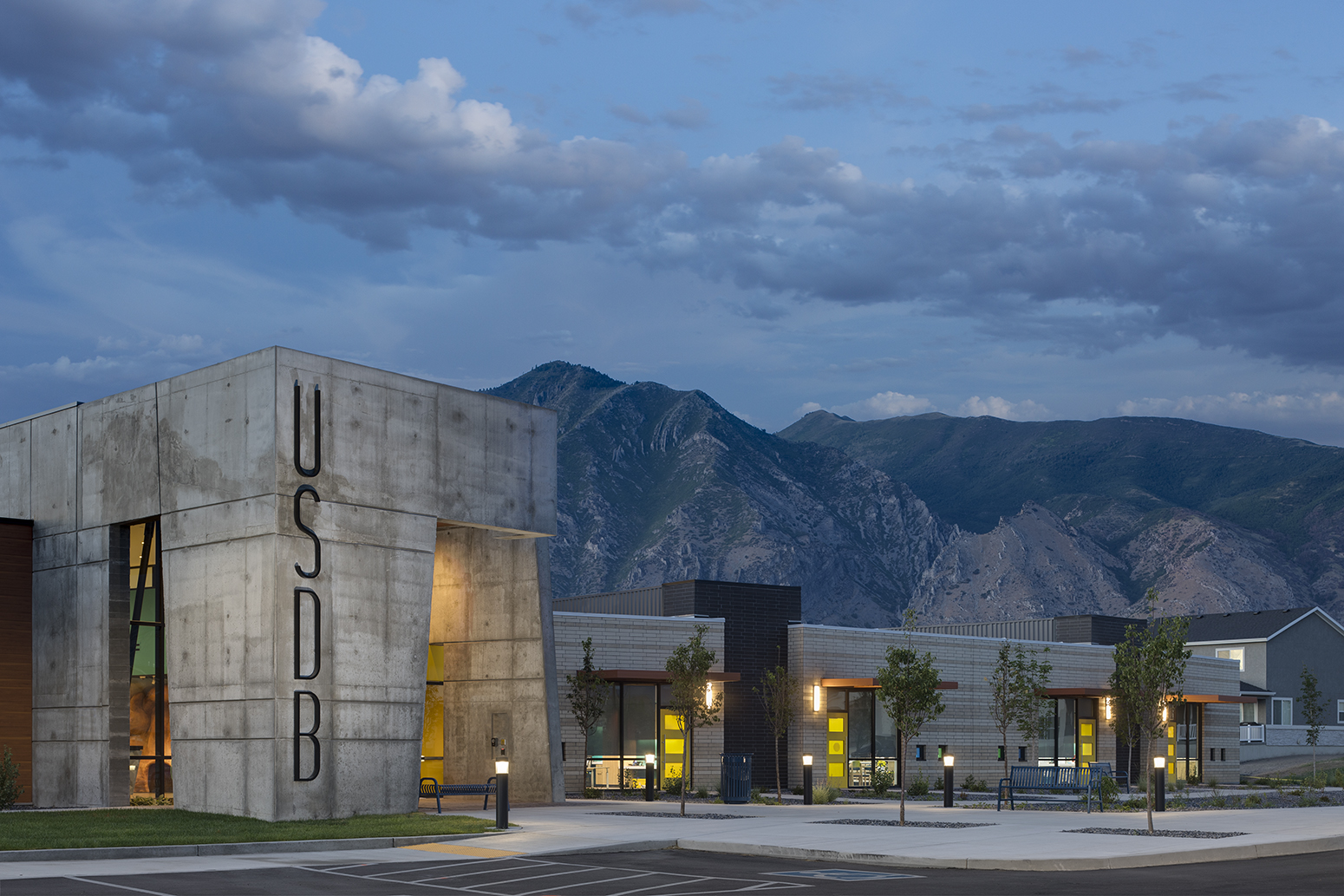 Utah School for the Deaf & Blind for Jacoby ArchitectsArchitectural Photography by Paul Richer / RICHER IMAGES