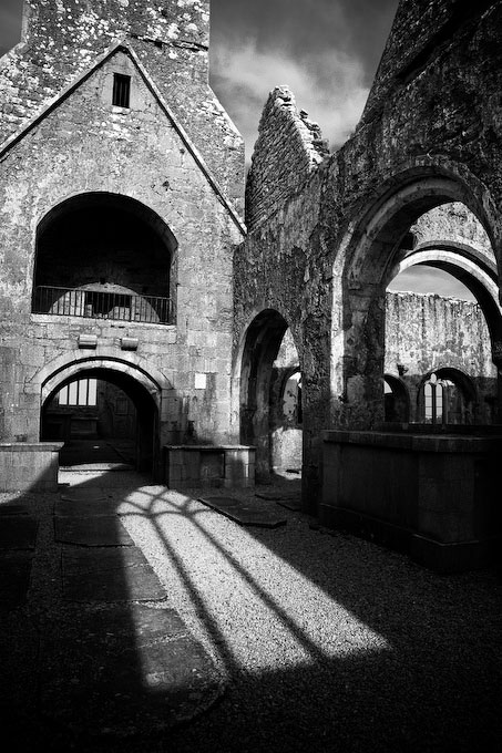 Ross Abbey Shadows