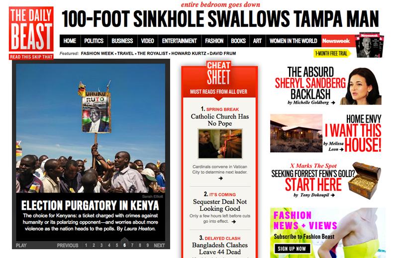 Newsweek / Daily Beast