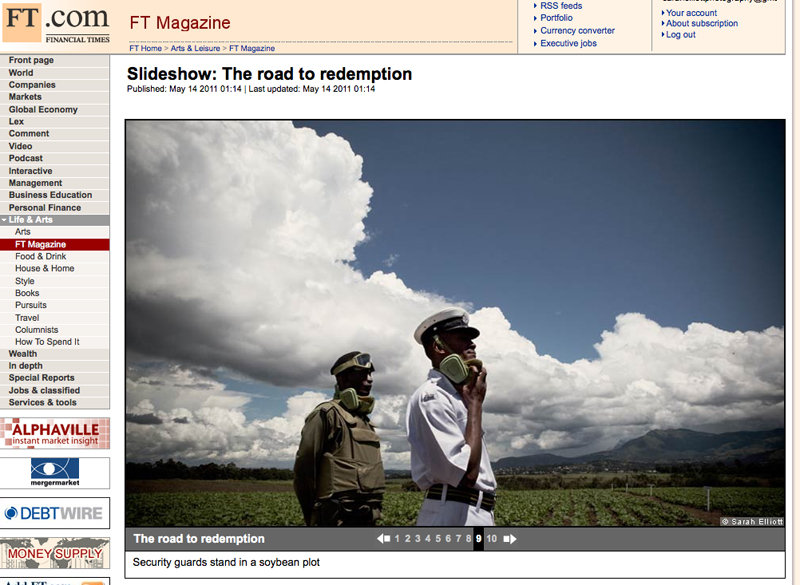 Financial Times Weekend Magazine Online