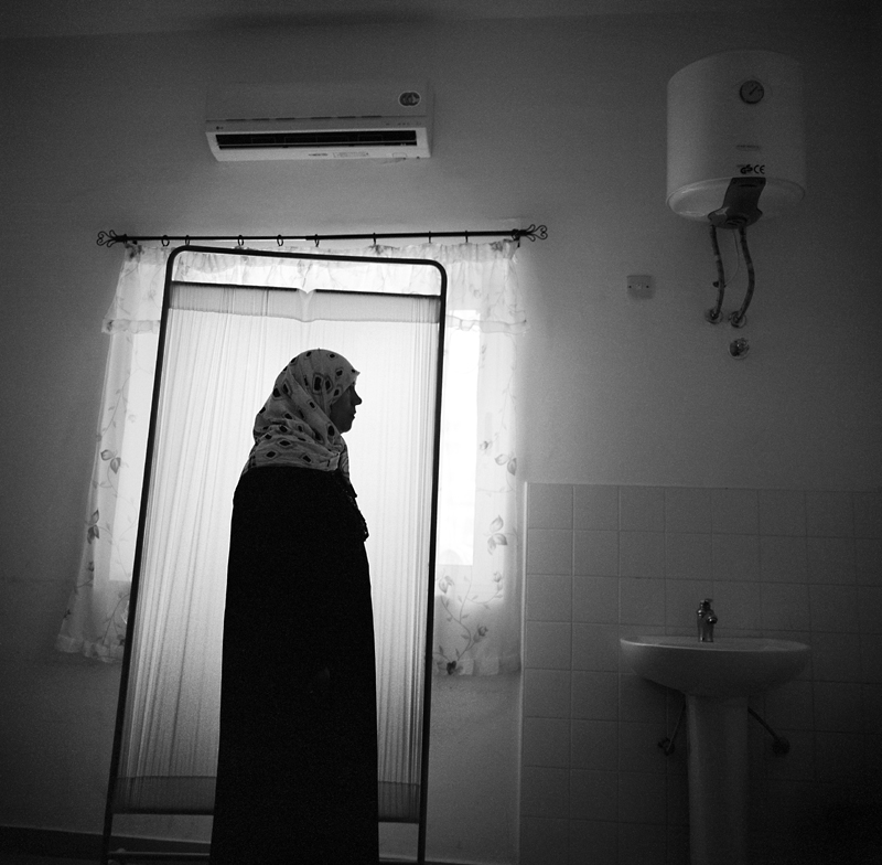 Psychologist Aisha Mohammed Gdour, 44, collected money from people in her community to help families in Tripoli with little means before the revolution began. Aisha, along with a network of trusted female friends also helped to financially support orphans. During the revolution Aisha collected money for guns and smuggled bullets in her purse. In addition, she volunteered at Matiga Military Hospital the last five days of Ramadan.