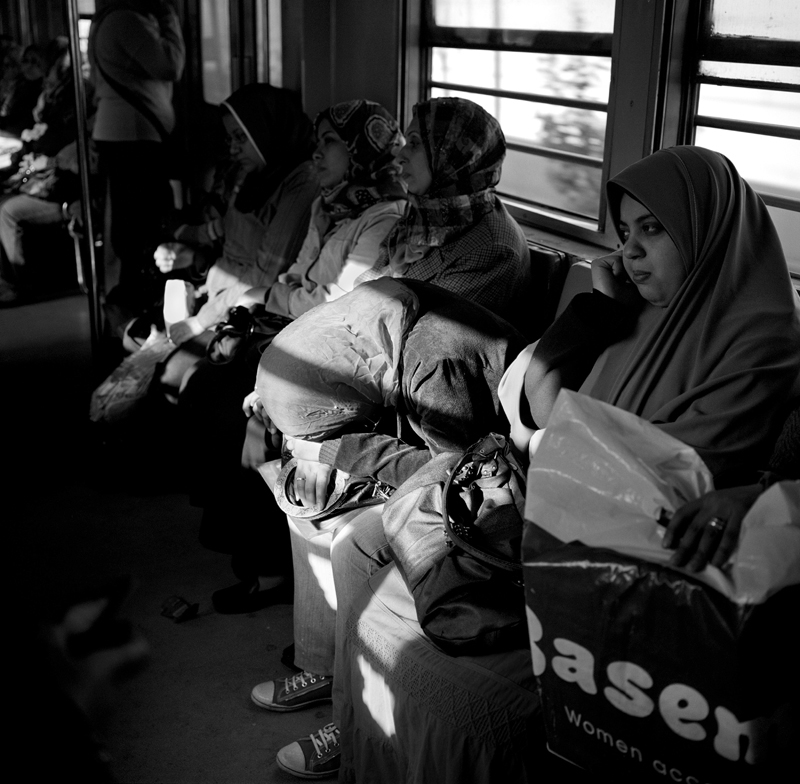 "In the early 90's Egypt introduced one car on each train on the metro to be solely for women. The segregation on the metro is aimed at reducing sexual harassment such as groping on crowded cars. Some believe the separation on cars is positive, as it provides women a safe heaven to travel, others believe it's a step back to the ""dark ages."" According to the Egyptian Center for Women's Rights, there has been a rise in sexual harassment and violence against women in the last decade, from constant verbal remarks and noises on the street to rape. The Center released a report in 2008 showing that eighty three percent of Egyptian women and ninety eight percent of foreign women in Egypt are sexually harassed. Conservative Islamic dress such as the niqab is no defense; even veiled women are harassed."