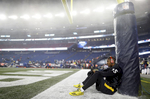 Pittsburgh Steelers rookie cornerback Artie Burns prior to the AFC Championship football game in Foxboro.