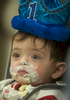 1/14/19-- FRAMINGHAM-- One-year-old Nico Foundas celebrated his birthday by returning to MetroWest Medical Center Monday.  A year ago he was born premature weighing one pound.   [Daily News and Wickled Local Staff Photo/Art Illman]