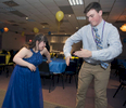 3/15/19-- FRANKLIN--  Sarah Kerr and Sean Hofferty do the robot during the annual Best Buddies Prom for Franklin High School students at the Franklin Elks Lodge 2136 Friday evening.  [Daily News and Wicked Local Staff Photo/Art Illman]