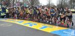 4/15/19--HOPKINTON-- The elite men start at the Boston Marathon Monday. [Daily News and Wicked Local Staff Photo/Art Illman]