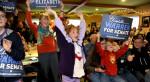 Days before the election, then U.S. Senate candiidate Elizabeth Warren held a rally at the Harvest Cafe in Hudson. Warren defeated U.S. Sen. Scott Brown.