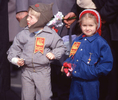 Youngsters along the parade route in Moscow. [Daily News and Wickedd Local Staff Photo/Art Illman]