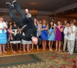 Party Excitement motivator went head over heels at this Bat Mitzvah.