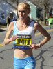 Kim Smith at the 2011 Boston Marathon.