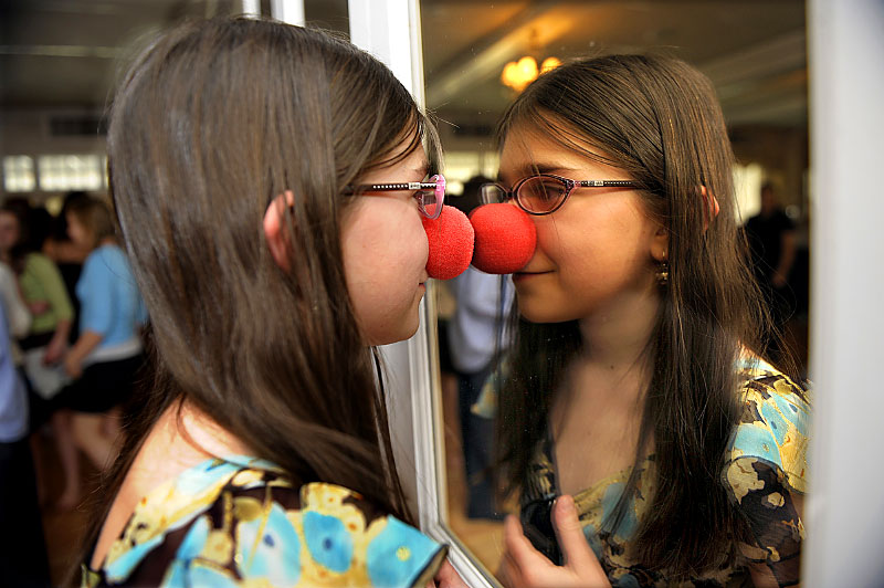 rednosereflection